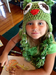 Woodland Owl Crochet Hat