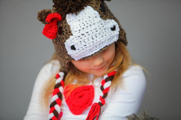 Horse Crochet Hat - Maddies Mad Hatters
