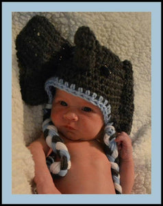 Elephant Crochet Hat - Maddies Mad Hatters
