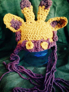 Soft and Cuddly Giraffe Crochet Hat - Maddies Mad Hatters
