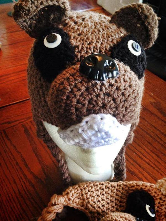 Brown Boxer Hat