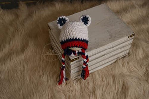 Patriotic Bear Crochet Hat - Maddies Mad Hatters