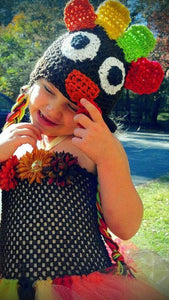 Turkey Crochet Hat - Maddies Mad Hatters