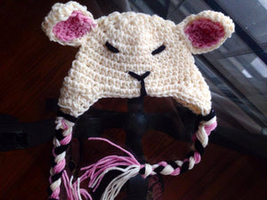 Sleepy Lamb Hat