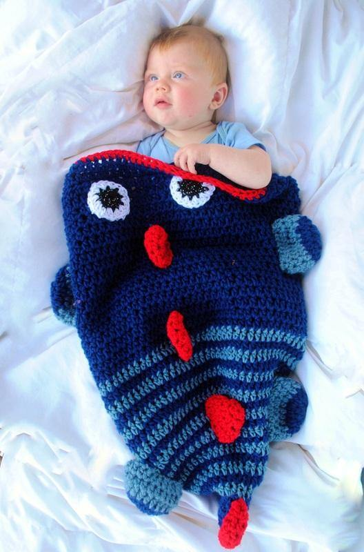 Dinosaur Sleep Sack Can be customized to any color preference