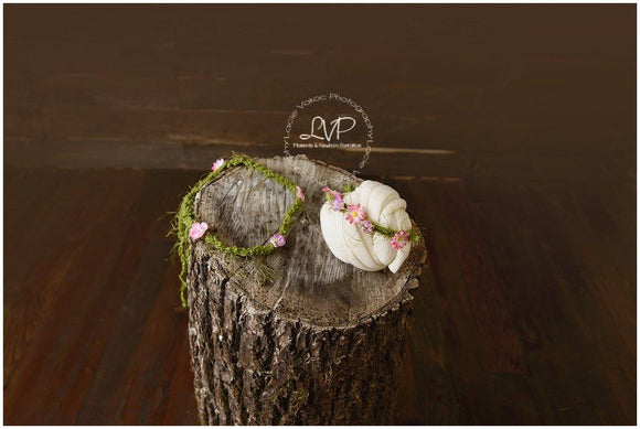 'Mommy and Me' Matching Enchanted Crochet Headbands (any color of your choice) - Maddies Mad Hatters