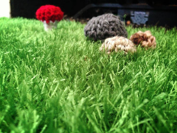 Grass-like Area Rug (great for photography use) - Maddies Mad Hatters