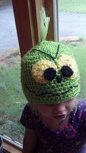 Grinch Crochet Hat - Maddies Mad Hatters