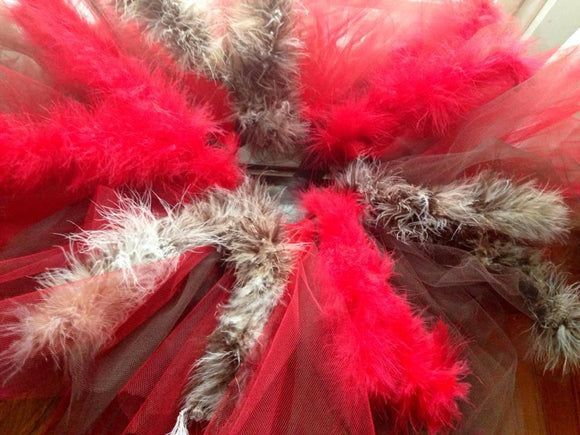 Boa Feathered Tutu - Maddies Mad Hatters