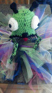 Bug Crochet Hat and Tutu Set - Maddies Mad Hatters
