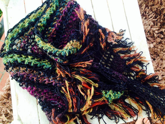 Beautiful triangular scarf