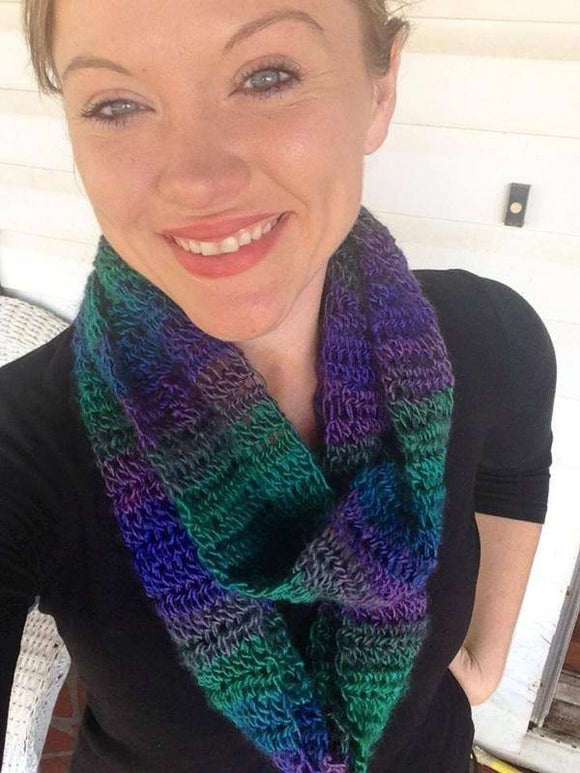 Double-Wrap Long Crochet Cowl - Maddies Mad Hatters