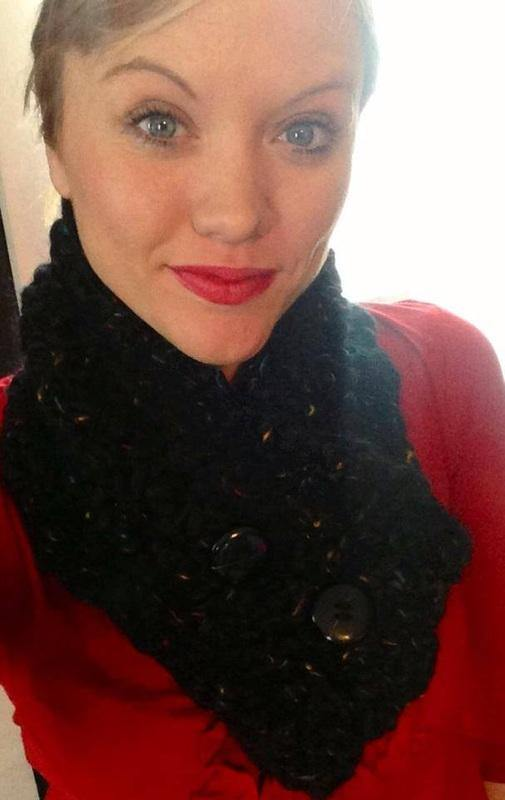 Button Up Crochet Cowl - Maddies Mad Hatters