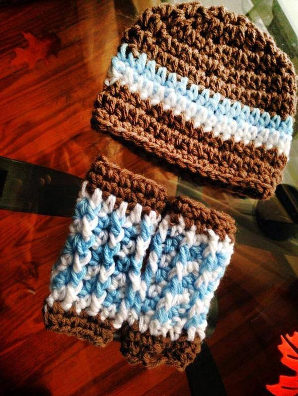 Crochet Hat and Legwarmer Set - Maddies Mad Hatters