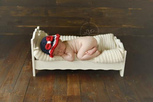 4th of July Patriotic Crochet Hat - Maddies Mad Hatters
