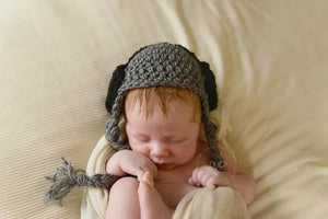 Headphones Crochet Beanie Hat
