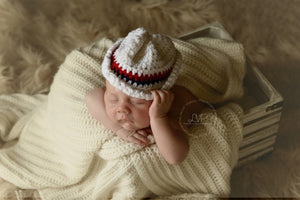 Patriotic Cowboy Crochet Hat - Maddies Mad Hatters