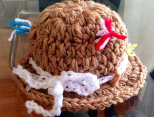 Fishing Crochet Hat