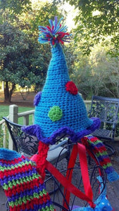 Birthday Crochet Hat - Maddies Mad Hatters