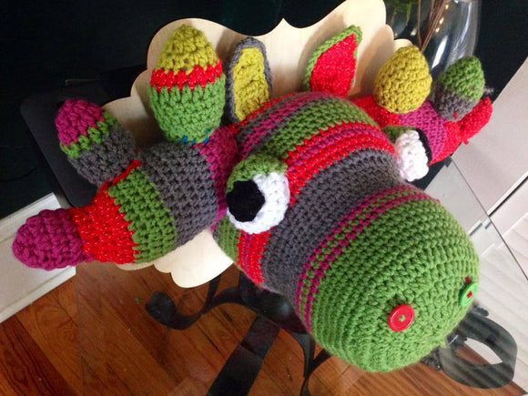 Crochet Taxidermy Moose - Maddies Mad Hatters