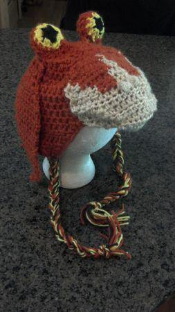 Little Jar Jar Binks Crochet Hat - Maddies Mad Hatters