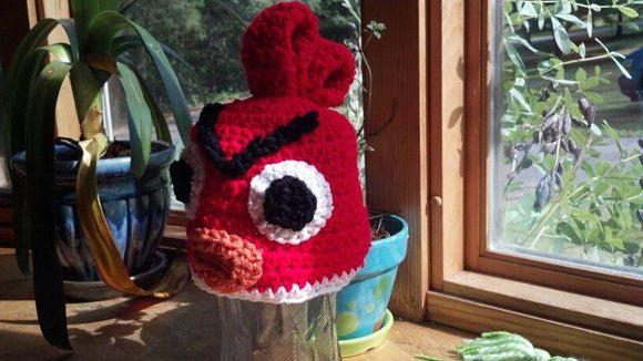 Bird Crochet Hat - Maddies Mad Hatters