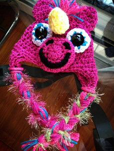 My Little Pony-inspired Crochet Hat - Maddies Mad Hatters