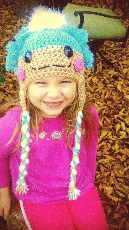 LaLa Crochet Hat with Tassels - Maddies Mad Hatters