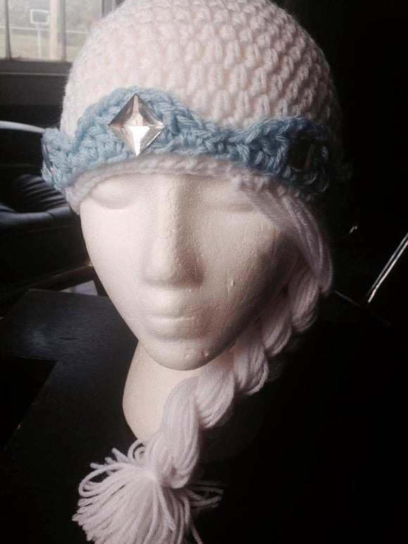 Princess Wig Crochet Hat