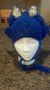 Sonic-inspired Crochet Hat