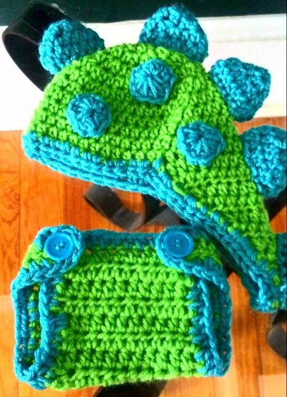 Dinosaur Diaper Cover