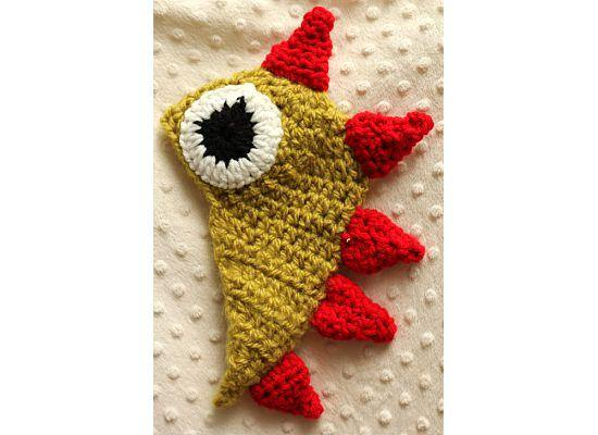 Dinosaur Crochet Hat - Maddies Mad Hatters