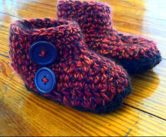 Crochet Shoes & Booties - Maddies Mad Hatters