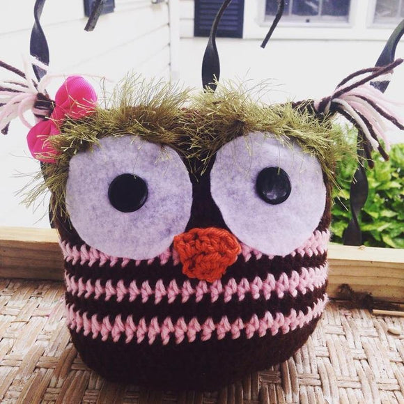 Alyssa the Owl Crochet Doll