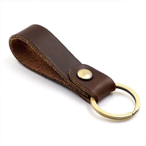 Two Leather Keychains