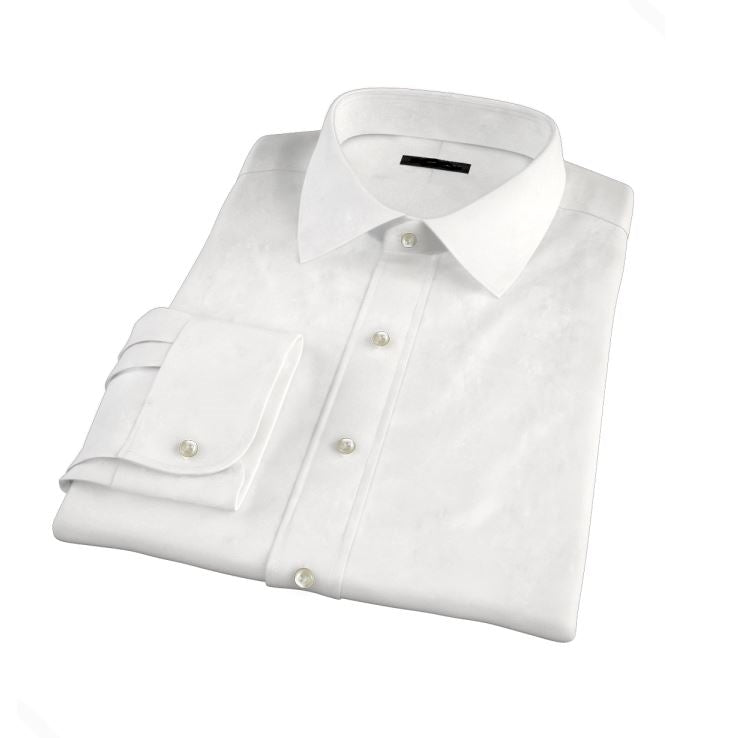 Made To Measure White Dress Shirt