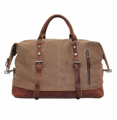 Canvas Weekend Travel Duffel Bag