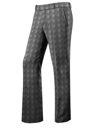 The McGregorson Gray Glen Plaid DB Suit