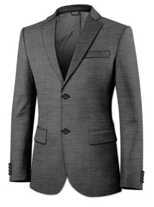 Black Stag Three Piece Suit
