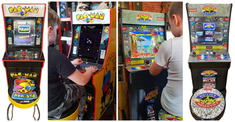 pacman and streey fighter game