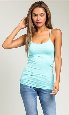 baby blue camisole
