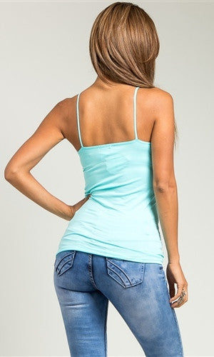 baby blue tank top