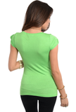 Spring lime green tshirt
