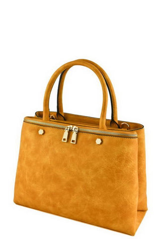 designer yellow tote bag