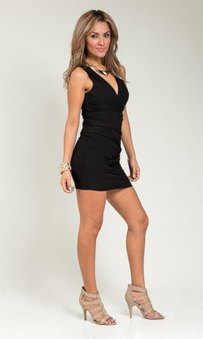 Junior Black Dress