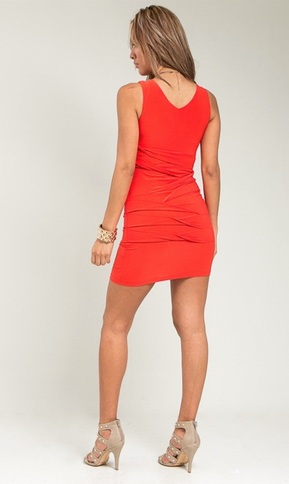 Junior Bandage Wrap Dress