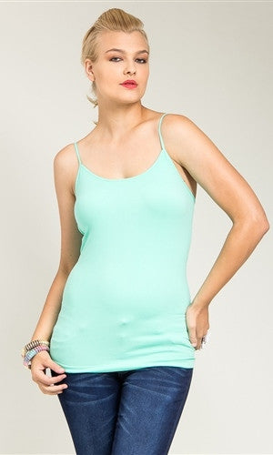 Mint plus size cami