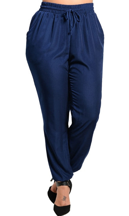 plus size runners pants