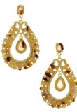 Shell Stone Luxe Design Earrings