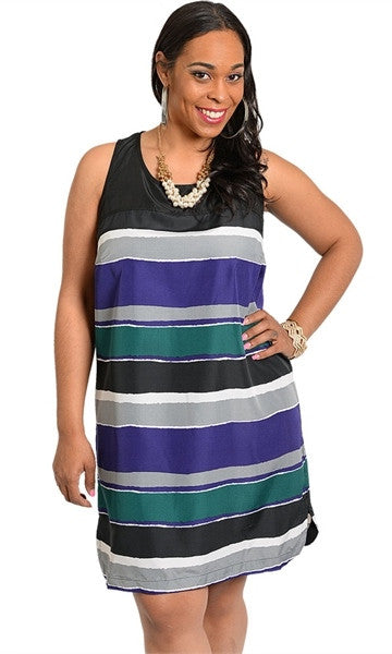 Stripe Casual Sundress